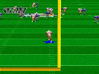 Madden NFL 96 screenshot