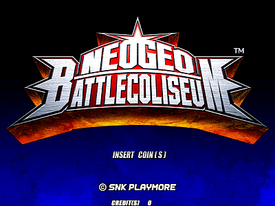 NeoGeo Battlecoliseum screenshot