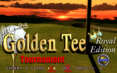 Golden Tee Royal Edition Tournament screenshot