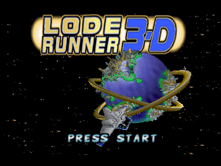 Lode Runner 3-D [Model NUS-NLRJ-JPN] screenshot