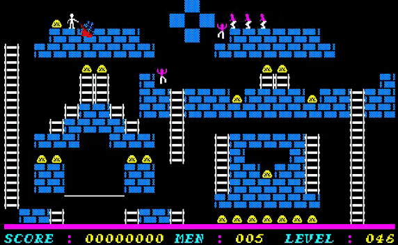 Championship Lode Runner screenshot