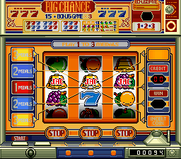 Hisshou 777 Fighter 2 - Pachi-Slot Hi Jouhou [Model SHVC-72] screenshot