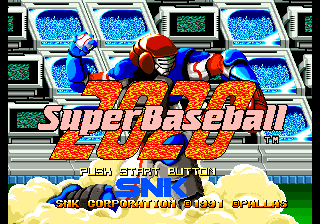 2020 Super Baseball [Model NGCD-030] screenshot