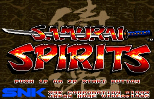 Samurai Spirits [Model JH-012] screenshot