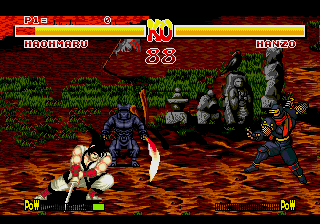 Samurai Shodown [Model 1184-50] screenshot
