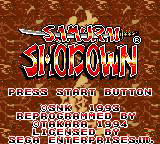 Samurai Shodown [Model T-103018] screenshot