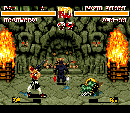 Samurai Shodown [Model SNS-A7SE-USA] screenshot