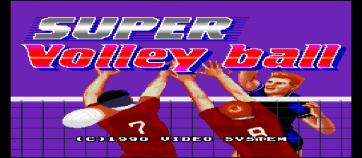 Super Volley Ball [Model 09] screenshot