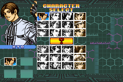 The King of Fighters EX - NeoBlood [Model AGB-AKOJ-JPN] screenshot