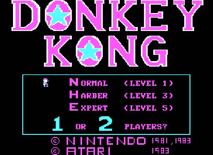 Donkey Kong [Model DX5508] screenshot