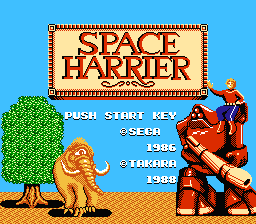 Space Harrier [Model TFC-SO] screenshot