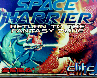 Space Harrier - Return to the Fantasy Zone screenshot