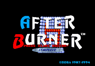 After Burner Complete [Model GM-4006] screenshot