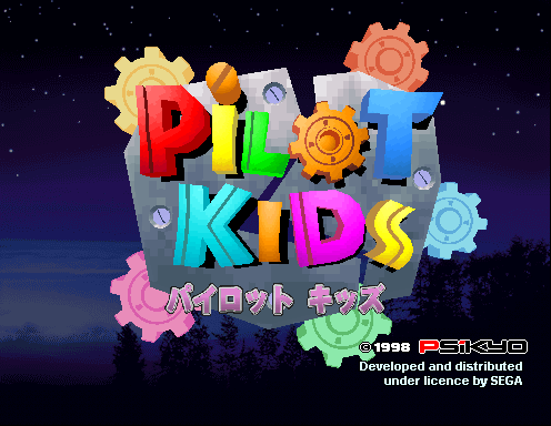Pilot Kids [Model 2B] screenshot