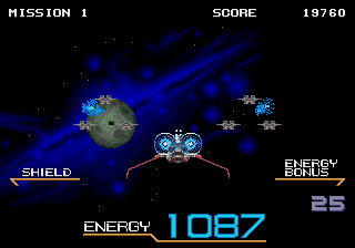 Galaxy Force II [Model T-68013] screenshot