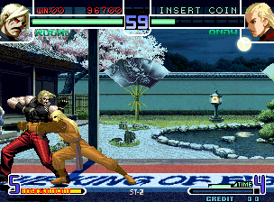 The King of Fighters 2002 Plus screenshot