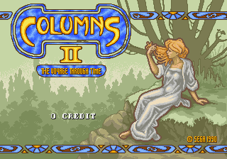Columns II - The Voyage Through Time screenshot