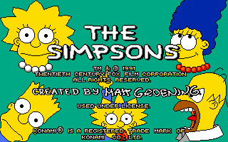 The Simpsons - Arcade Game screenshot