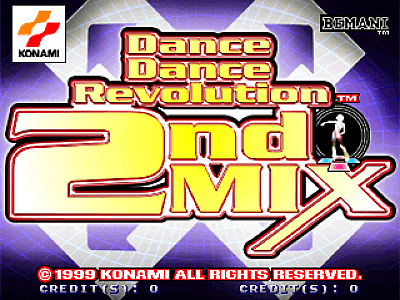 Dance Dance Revolution 2ndMix [Model GC895] screenshot
