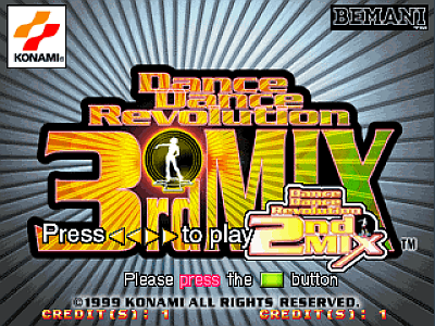 Dance Dance Revolution 3rdMix [Model GE887] screenshot
