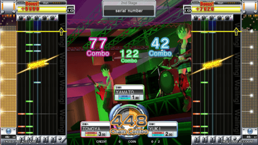 GuitarFreaks XG3 screenshot