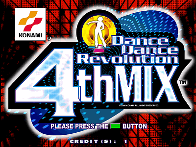Dance Dance Revolution 4thMix [Model GCA33] screenshot