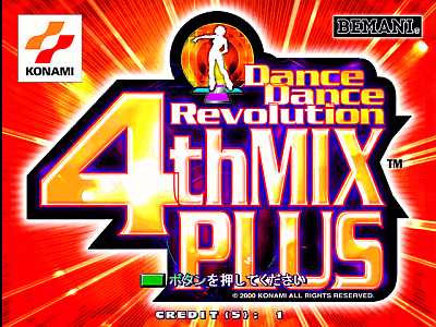 Dance Dance Revolution 4thMix Plus [Model GCA34] screenshot