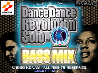 Dance Dance Revolution Solo BASS MIX screenshot