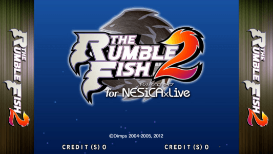 The Rumble Fish 2 for NESiCAxLive screenshot