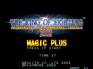 The King of Fighters 2002 Magic Plus screenshot