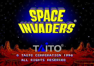 Space Invaders [Model T-1107G] screenshot