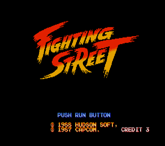 Fighting Street [Model HCD8002] screenshot