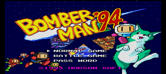 Bomber Man '94 [Model HC93065] screenshot