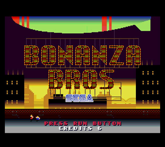 Bonanza Bros. [Model NAPR-2028] screenshot