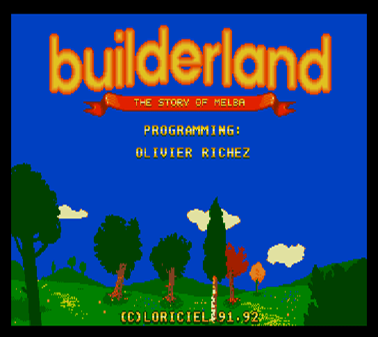 Builder Land - The Story of Melba [Model MWCD-2003] screenshot