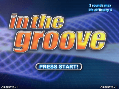 In the Groove screenshot
