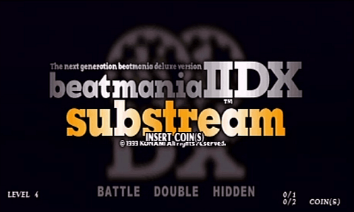 beatmania IIDX substream screenshot