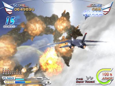 After Burner Climax arcade video game by SEGA Enterprises (2006)