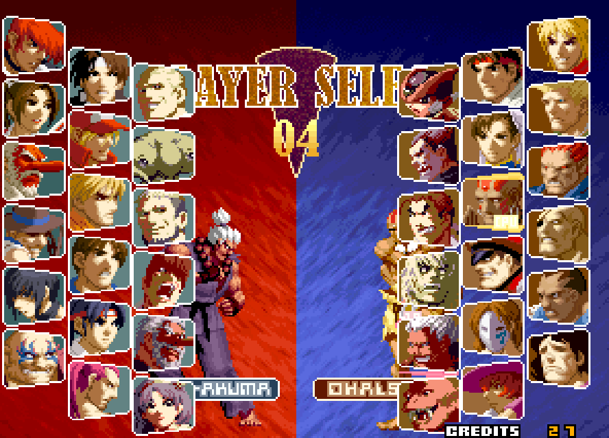 Screens Zimmer 8 angezeig: capcom vs snk 2 pc