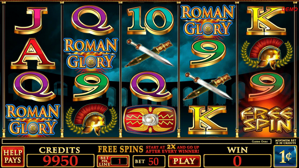 free slot games rome glory