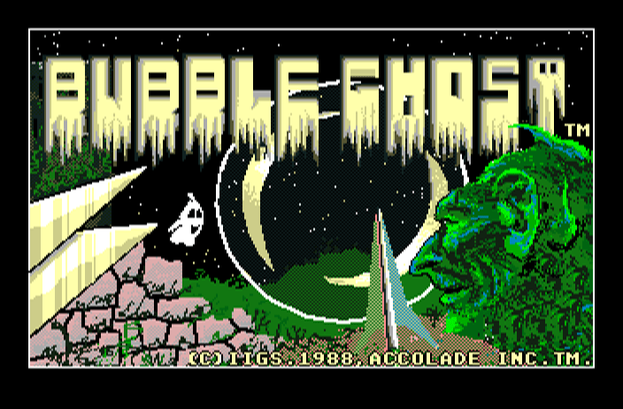 Bubble Ghost screenshot