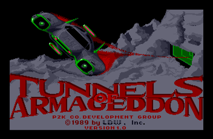 Tunnels of Armageddon screenshot