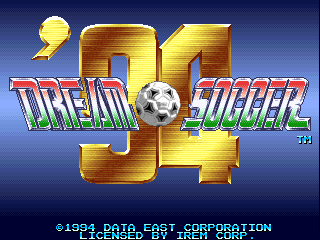 Dream Soccer '94 screenshot