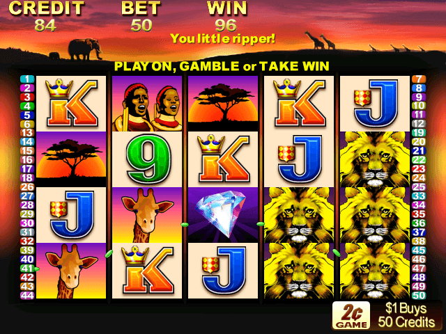 50 lions slot machines