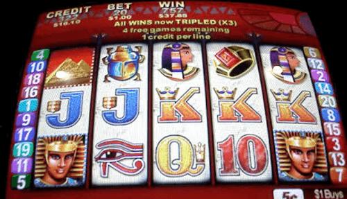 king of the nile slot machine