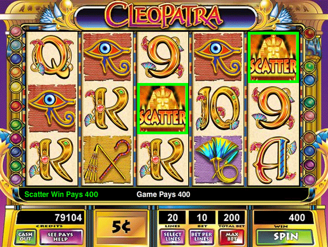 Cleopatra [Video Slot] screenshot