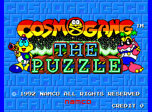 Cosmo Gang - The Puzzle screenshot