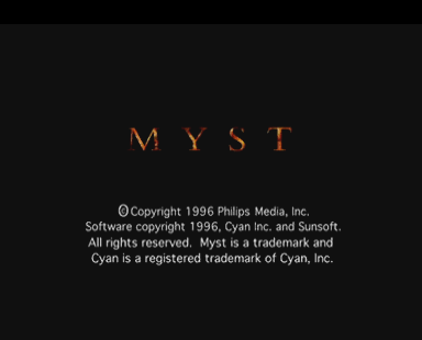 Myst [Model 810 0308] screenshot