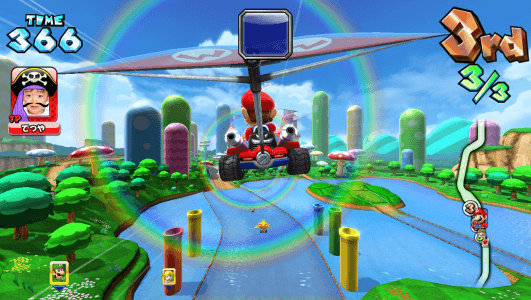 Mario Kart Arcade GP DX screenshot