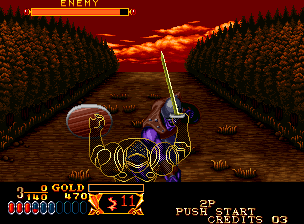 Crossed Swords [Model NGM-037] screenshot